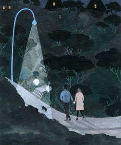 Yelena Bryksenkova - Night Walk