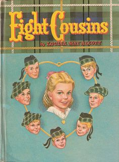 Vintage Whitman Eight Cousins by Louisa May by enchantedbookroom....I have this book and it takes me back yeeeears...
