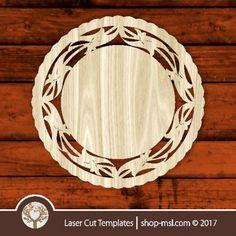 Frame template, online vector design store for laser cut templates. Frame Template, Templates, Cut Photo, Laser Cut Patterns, Vector Design, Wooden Boxes, Laser Cutting, Free Design, Paper Art