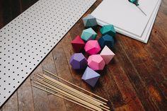 ⇢|| http://ruffledblog.com/diy-geometric-table-runner-from-sarah-park/ ⇢||DIYGeometricTableRunner ⇢||SarahPark