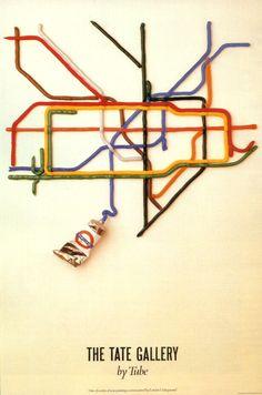 Underground poster.
