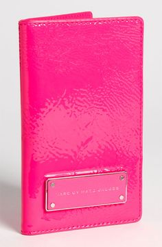 Marc Jacobs Passport Holder.  I love this one!