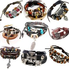 Cheap bracelet bag, Buy Quality bracelet brand directly from China bracelet soccer Suppliers: Vintage rope leather mens bracelets leather rope hand woven bracelet for men rope braided bracelet male female bracelet