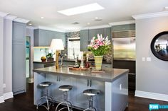 Flipping Out Season 6 - Jeff Lewis Redoes Spring Oak – Before and After - Photo Gallery - Contemporary Kitchen