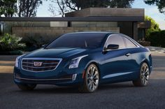 2015 Cadillac ATS Coupe favors cleanliness over radical lines. http://aol.it/1hmduxY  @Cadillac #cadillacATSCoupe #ATS #ATSCoupe