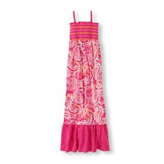 She'll be pretty in paisley wearing this fantastic maxi style!