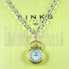 www.linksoflondonsweetieringssale.co.uk/discounted-links-of-london-necklace-sales/good-quality-gold-necklace-onlinestore  Ideal Links of London Gold Watch Necklace 001 In Cut Price