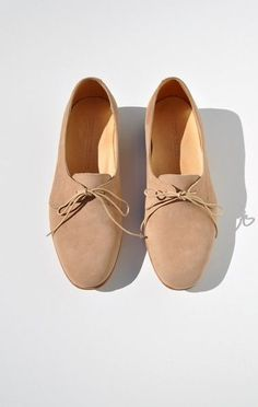 Anaïse Dieppa Restrepo Dina Oxford, Sand Nubuck. You have no idea how bad I want these