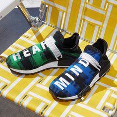 The billionaire boys club x pharrell x adidas nmd hu 'digijack' pack gets a release date Adidas Originals, Adidas Nmd, Nmd Sneakers, Adidas Sneakers, Hypebeast, Dna, Next Shoes, Billionaire Boys Club, Aesthetic Boy