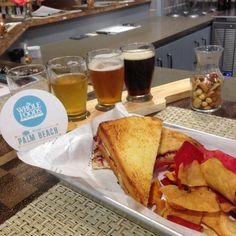 Palm Beach Brews bar is inside the West Palm Beach Whole Foods Market.