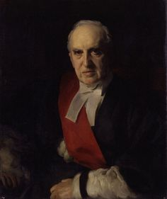 Portrait of Charles Arthur Russell, Baron Russell of Killowen, 1900 by John Singer Sargent (American Russell – was an Irish statesman who became Lord Chief Justice of England.died the year of this portrait. John Singer Sargent, The London Gazette, Royal Horse Artillery, Francis Xavier, Amber Tree, Baronet, Chief Justice, The Eighth Day, National Portrait Gallery