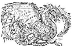 Výsledek obrázku pro Dragons Coloring Book
