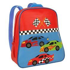 Race Car Stephen Joseph Go-Go Bag Boys Backpack