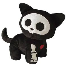 Skelanimals Series 2 New Kit (Cat) Deluxe Plush