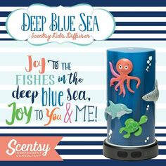 #WarmerWednesday: #DeepBlueSea has 5 magnets to allow your kid to have a customizable experience. http://dld.bz/eFnh5