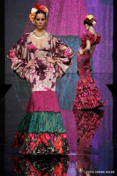 vicky martin berrocal traje flamenca