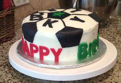 Quick Soccer Ball Cake                                                       …