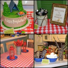 Itsy Bitsy Paper: . . . Indoor Camping Party . . .