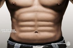 Burger King: Abs | #ads #adv #marketing #creative #publicité #print #poster #advertising #campaign