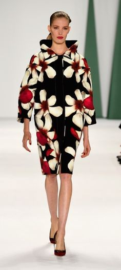 Gorgeous! Caroline Herrera, Mercedes-Benz Fashion Week