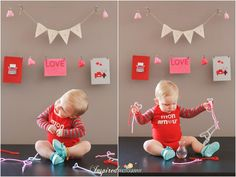 Baby Boy First Birthday Lifestyle Photography // www.inspiredphotographystl.com