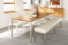 dining - bench seat and chairs