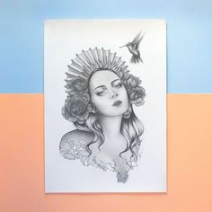 Whoop whoop she's finished! My tribute to the coming of spring this year, what do you guys think of her? Thinking of doing a mini print release of her in the next month.drop a comment to let me know if you'd be interested! Arches Watercolor Paper, Watercolour, Realistic Pencil Drawings, Print Release, Silver Paint, Child Love, Wren, Line Drawing