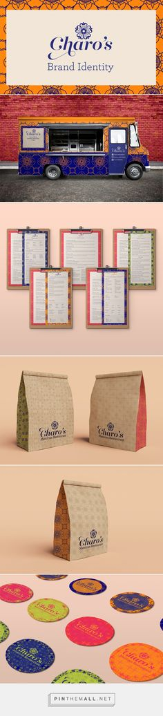 Charo's Mexican Restaurant Branding and Menu Design by Maria Zavaleta