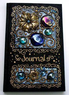 Midnight Garden Journal by MandarinMoon, via Flickr