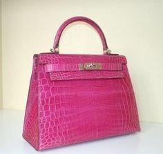Kelly Bag by Hermes #pink #hermes #bag