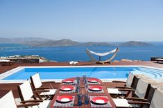 White Pearl Luxury Villa in Elounda Crete with Infinity Pool and Jakuzzi. Plan your Unforgetable Vacation in White Pearl Villa. Holiday Apartments, Rental Apartments, Elounda Crete, Rent A Villa, Vacation Villas, Luxury Villa, Jacuzzi, Pearl White, Sun Lounger