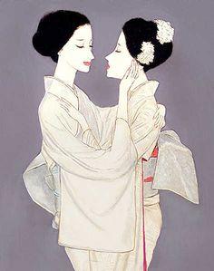Takasawa Keiichi (1914-1984) 高沢圭一 Kiss