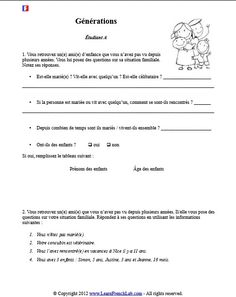 1000 images about french worksheets on pinterest free printable worksheets crossword puzzles. Black Bedroom Furniture Sets. Home Design Ideas