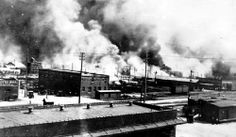 "Tulsa, Oklahoma ""race riot"" a.k.a. white massacre of Black people who were managing to become successful in the early part of the 20th century."