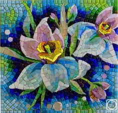 Mosaic Diy, Mosaic Garden, Mosaic Crafts, Mosaic Projects, Mosaic Tiles, Mosaic Designs, Mosaic Patterns, Sea Glass Mosaic, Stained Glass