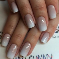 Looking for nude or natural looking nails? Check our guide for achieving the best natural looking nails for you! Natural Looking Nails, Natural Nails, Sexy Nails, Manicure E Pedicure, Dipped Nails, Nail Swag, Super Nails, Holiday Nails, French Nails