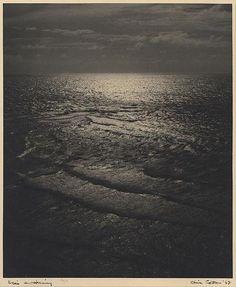 "olive cotton - ""sea's awakening"", photography."
