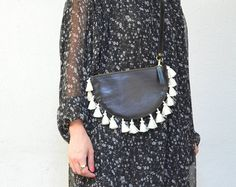 Handmade bags and lifestyle accessories by CirceGoods Boho, Handmade Bags, Leather Purses, Crossbody Bag, Black Leather, Lifestyle, Trending Outfits, Unique Jewelry, How To Wear