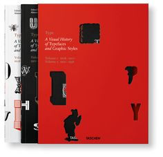 A Visual History of Typefaces & Graphic Styles (Cees W. de Jong, Alston W. Purvis, Jan Tholenaar), found via Brain Pickings Free Books Online, Any Book, Editorial Design, Design Crafts, Good Books, Improve Yourself, Graphic Design, Lettering, Type
