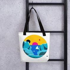 Strong, unique Tote bag -Circle Collection- No. 1