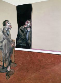 FRANCIS BACON Portrait of George Dyer Staring Into a Mirror, 1967 Medium Oil on canvas