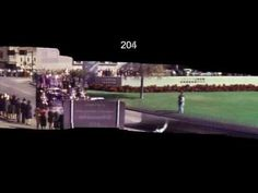 "JFK Assassination Zapruder Stabilized Motion Panorama HD plus SloMo - ""Back, and to the left."""