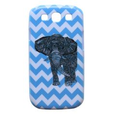 adorable elephant samsung galaxy s3 phone case