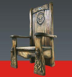 Авторская мебель — Царский трон — Кресло «Царь-зверь»