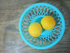 60s Plastic Cut Out Bowl - $18