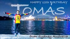Happy 12th Birthday to my Tomas in Scotland from far away #australia #sydney #sydneyharbourbridge #birthday #happybirthday #operahousesydney #missu #iloveyou by celio.creative.media http://ift.tt/1NRMbNv