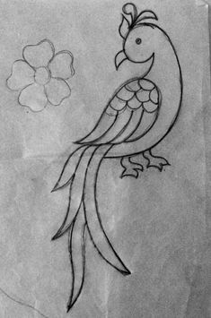 Hand Work Embroidery, Flower Embroidery Designs, Cute Embroidery, Hand Embroidery Stitches, Embroidery Techniques, Embroidery Patterns, Hand Work Blouse Design, Hand Designs, Mehndi Designs