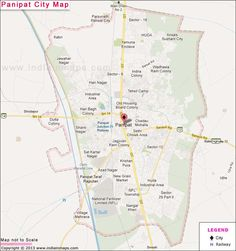 Panipat City Map