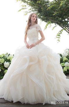 Mode Marie via Beauty Bride