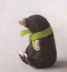Mole Supply Pack - for use with 'Making Needle Felted Animals' book £10.50 #needlefeltingtutorials